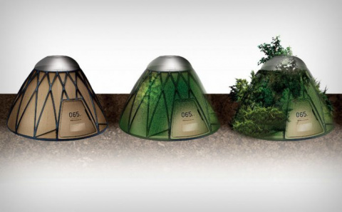 Разработана палатка спасающая людей и дающая жизнь растениям