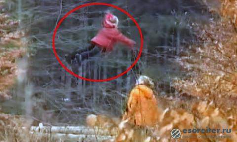 Загадочное видео. Летающая р…