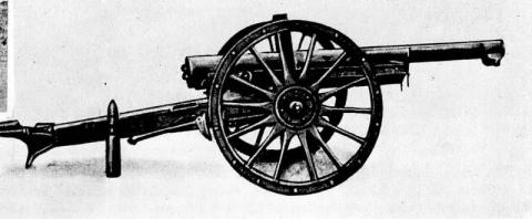 Артиллерия 1914 года
