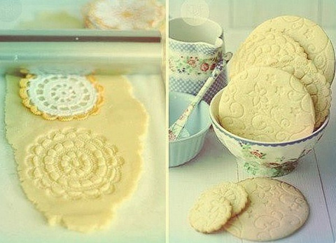Как сделать узор на печеньках