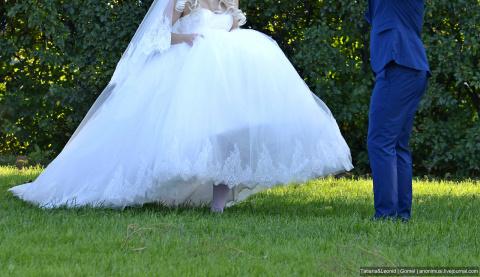 А надо ли в 3-ий брак платье белое?