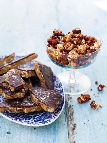 Рецепты к Новогоднему столу от Джейми! Ириски – тянучки с орехами