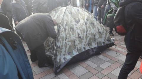 «Майдан-3» под Верховной Рад…