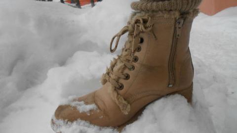Ухаживай за обувью зимой правильно
