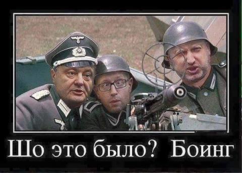 Зачем Украина сбила «Боинг».…