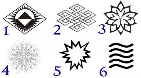Выберите символ и узнайте свое духовное сообщение