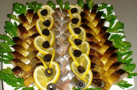 Вкуснейшие рыбные нарезки. Идеи к новогоднему столу