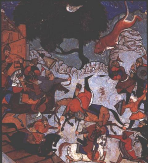 Герои-смертники в армии Чингисхана и его потомков