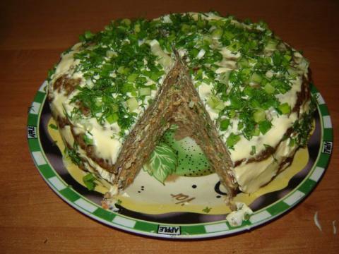 Печеночный торт. Самый прави…