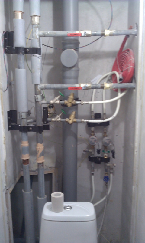 Разводка водопровода в
