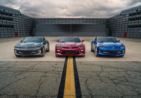 Chevrolet Camaro добавят еще…