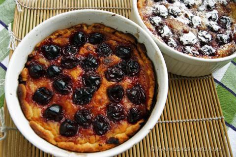 Португальские пирожные с вишней