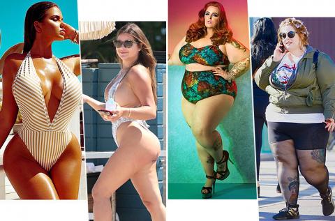 Так нечестно: как на самом деле выглядят тела plus-size моделей