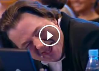 Впервые Эрнст так смеется!