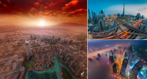 Дубай: вид с воздуха