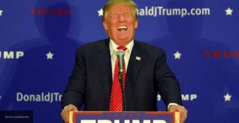 Дональд Трамп празднует первую победу на посту президента
