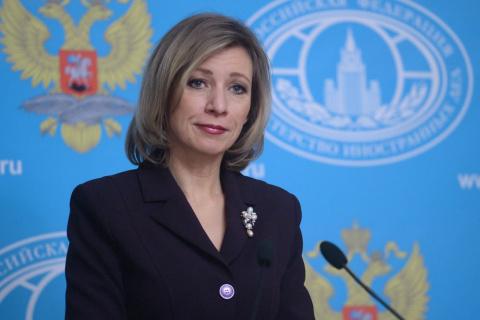 """Захарова предложила сделать слова о """"дебилах"""" лозунгом """"Евровидения"""""""