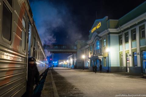 Ненавязчивый сервис монгольских железных дорог