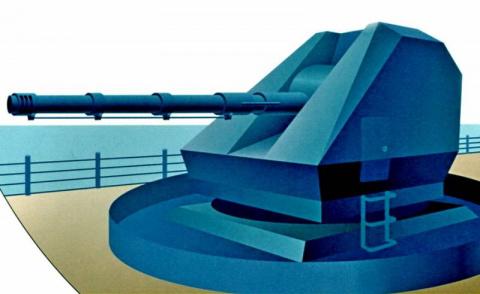 Корабельный артиллерийский к…