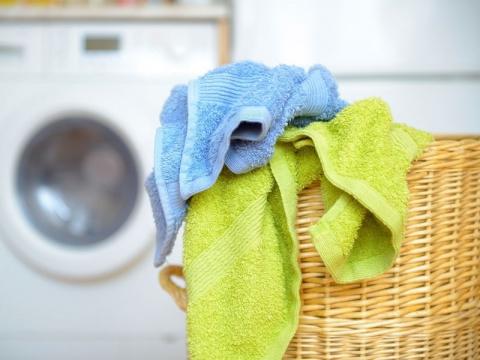 Как отстирать кухонные полот…