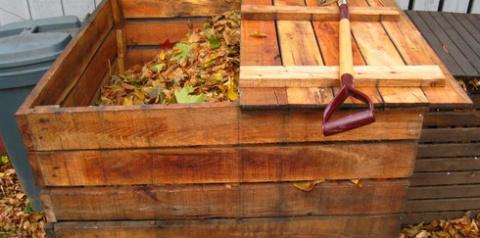 Как правильно устроить компостную кучу