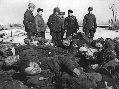 Своеобразный подход к холокосту