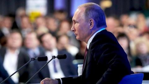 Итоговая пресс-конференция: о мире, Украине и умении договариваться