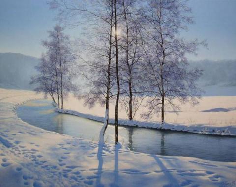 Зимние мотивы Олега Потаса