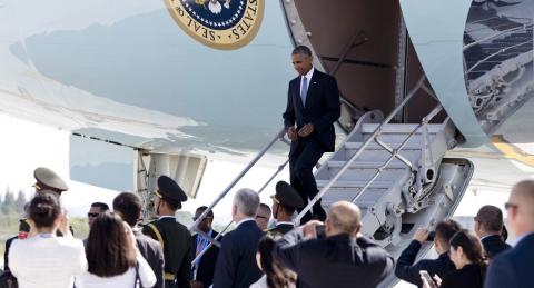 По прилёту на саммит G20 к самолёту Обамы не подали трап с красной дорожкой
