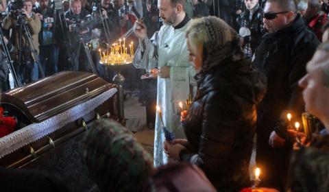 На похоронах Вороненкова объ…