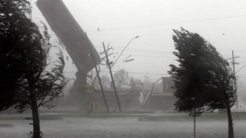 Ураган в Чечне повредил боле…