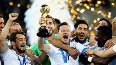 Сборная Германии выиграла Ку…