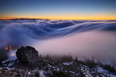 Потрясающие фото туманов