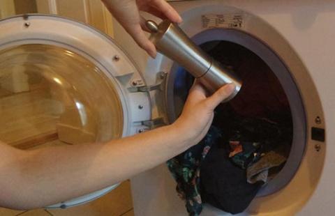 Просто добавь черного перца в стиральную машину…