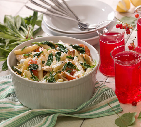 Готовим необычные салаты: рецепты