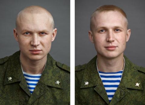 Портреты солдат до и после а…