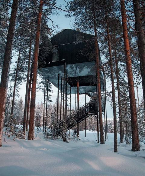 В Лапландии построили необыч…