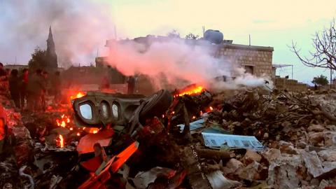 Иностранцы о сбитом Су-25 в …