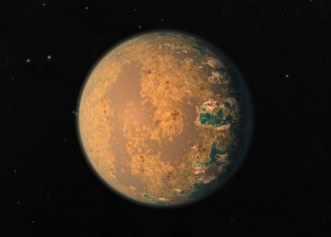 Струйные течения спрятали от астрономов признаки жизни на экзопланетах