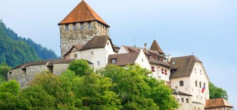 Замок Вадуц, Лихтенштейн (Schloss Vaduz)