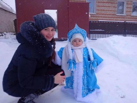 Вот какая снегурочка - красо…