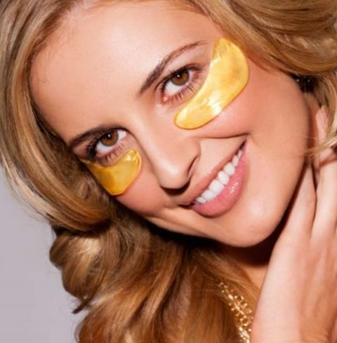 """Золотая маска для кожи вокруг глаз! Прическа """"Бабочка"""" - праздничный и повседневный варианты"""