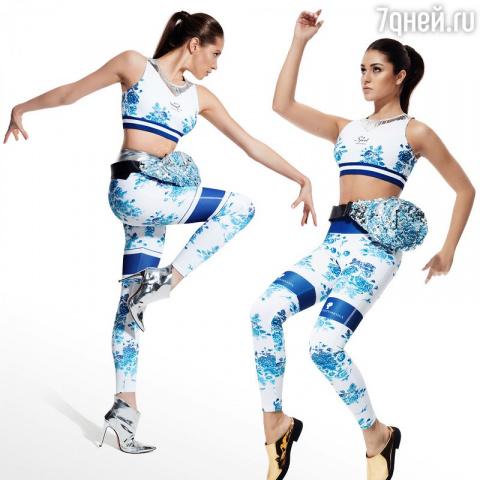 Российские гимнастки стали моделями