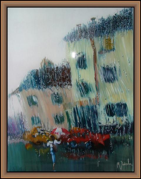 Живопись на стекле (акварель, темпера, эмаль) Татьяны Чачевой