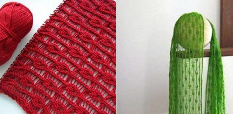 Удивительно красивое вязание…