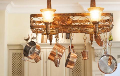 Светильники и люстры из кухо…