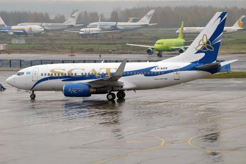 Казахский авиаперевозчик SCA…