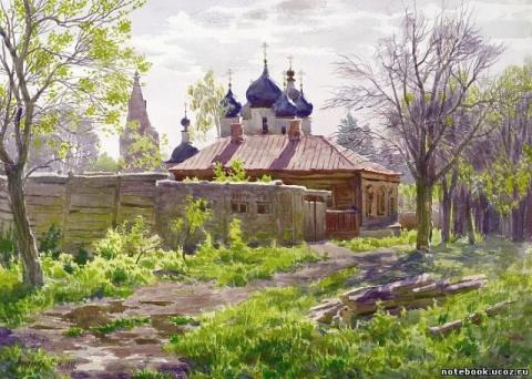 Акварели Сергея Андрияки