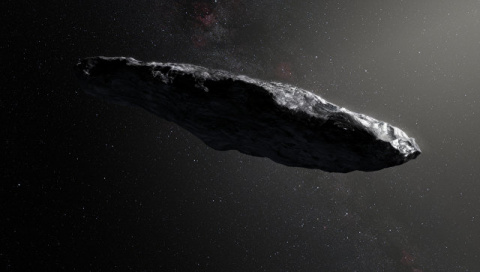Астрономы предсказали будущее межзвездного астероида Оумуамуа