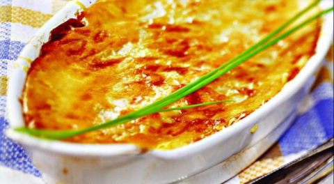 Картофельный гратен с сырной…